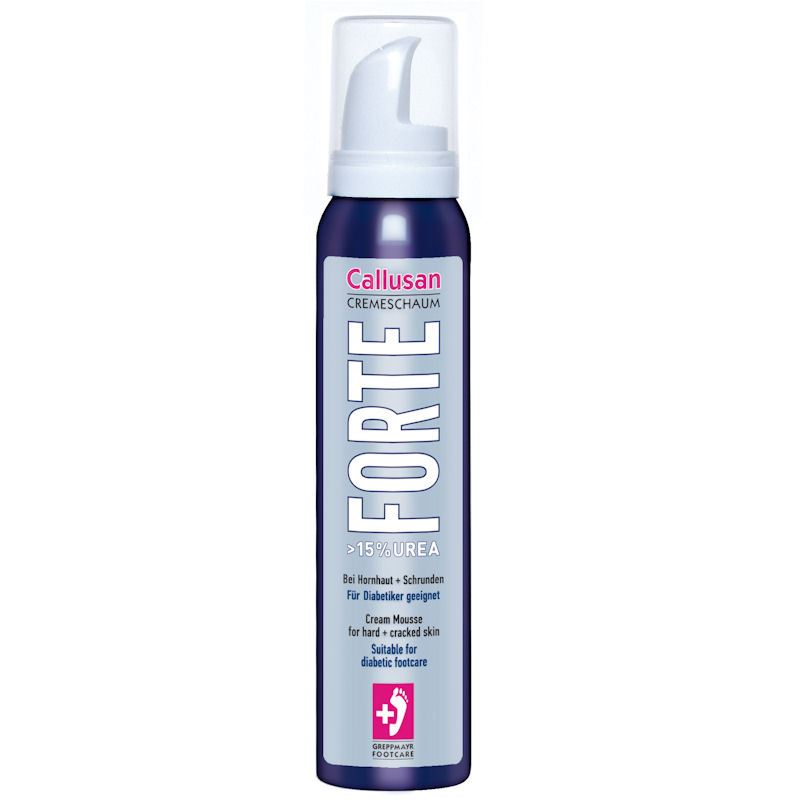 Callusan FORTE Foot Cream Mousse 125ml | Softens the Skin