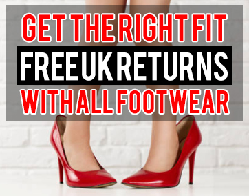 Free UK Returns With All Footwear